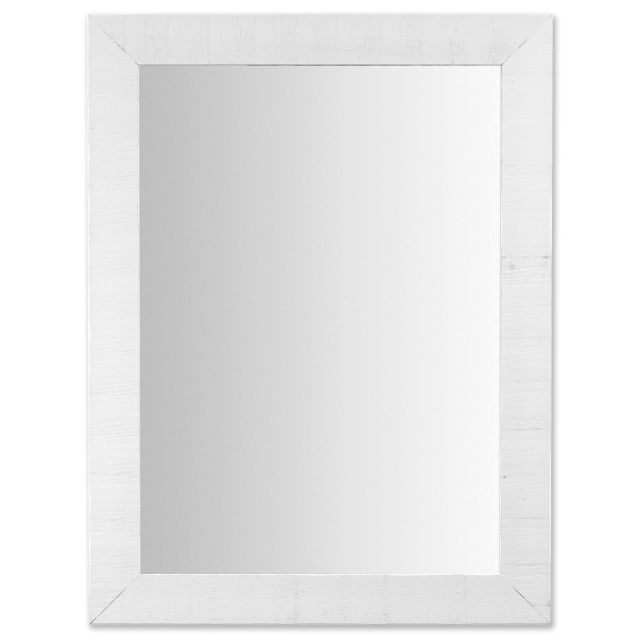 Kavehome Miroir Seven, blanc 62x82 cm