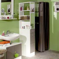 Colonne salle de bain taupe - Achat Colonne salle de bain taupe ...