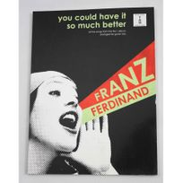 Wise Publications - Franz Ferdinand - You could have it so much better - Tablatures guitare