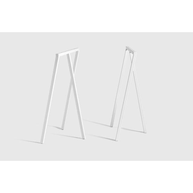 Hay Loop Stand Frame - blanc