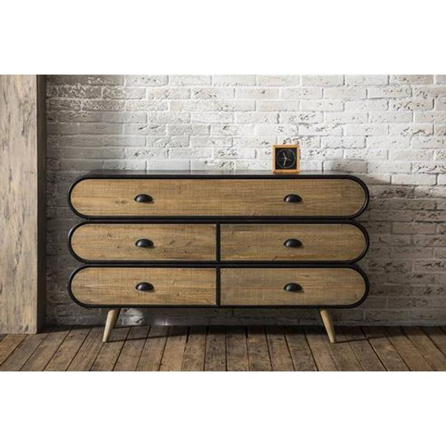 bahut industriel pas cher beautiful beautiful meuble vintage pas cher with bahut industriel pas. Black Bedroom Furniture Sets. Home Design Ideas