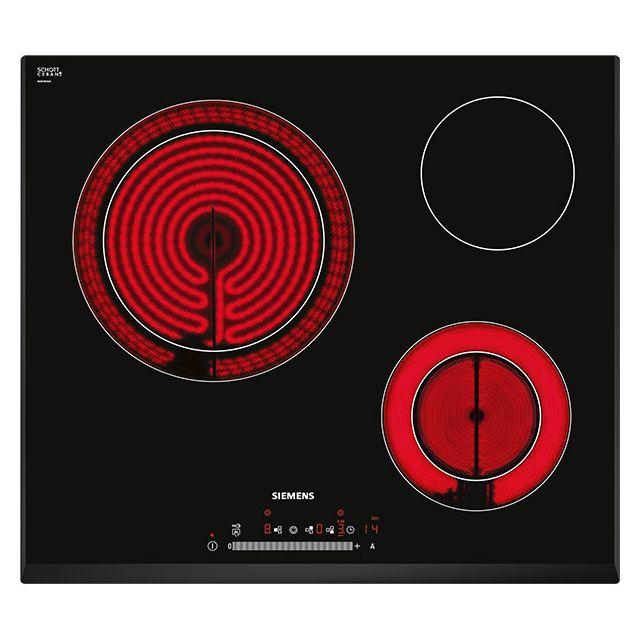 siemens et651fk17e table de cuisson vitroc ramique 60cm. Black Bedroom Furniture Sets. Home Design Ideas