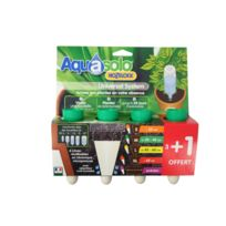 - Cône arrosage d'absence Aquasolo médium 20 cl vert