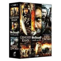 First International Production - 3 films épiques - Vol. 2 : Genghis Khan + Wolfhound + Fire and Sword