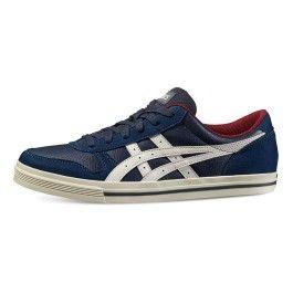 Asics Tiger Chaussures Aaron bleu pas cher Achat Vente