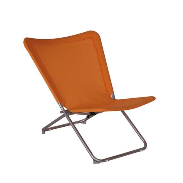 Hespéride - Chaise de jardin relax papillon Tutti Frutti - Texaline ...