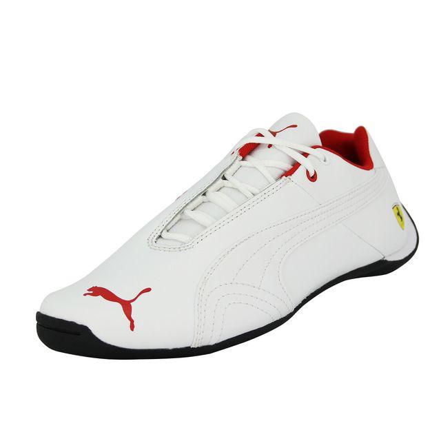 puma blanche rouge