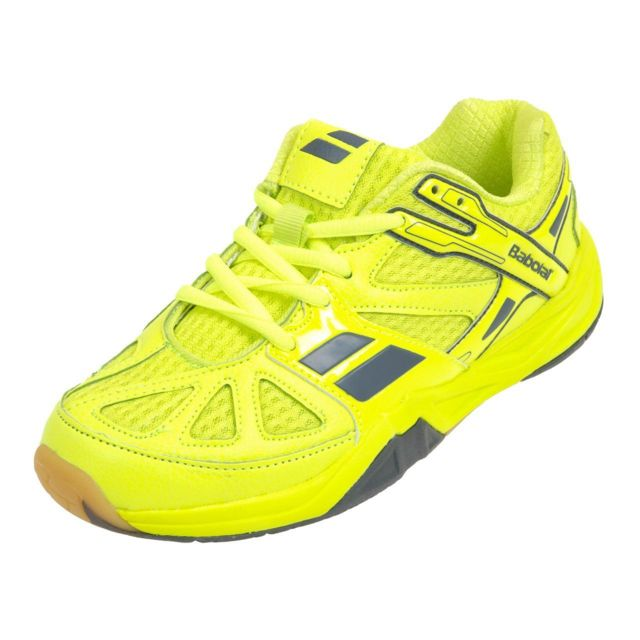Babolat Chaussures de badminton Shadow first jr jaune Jaune 53008