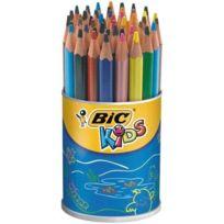 Bic Kids - crayon de couleur evolution triangulaire - pot de 48