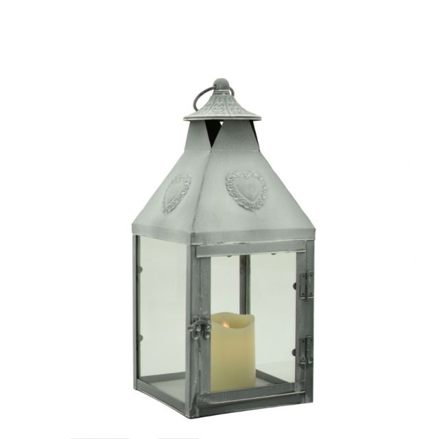 L'ORIGINALE Deco Lanterne Fer à Bougie d'Intérieur d'Extérieur 47 cm