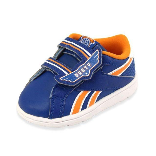Reebok Disney Planes Court 2V Blu Chaussures Bébé Garçon