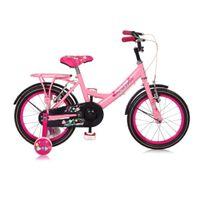 "Mickeybike - Vélo Fille 12"" Fushia 2016"