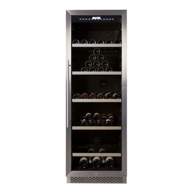 vinolux cave vin de vieillissement porte verre inox 233 bouteilles vxv230vxf pas cher. Black Bedroom Furniture Sets. Home Design Ideas