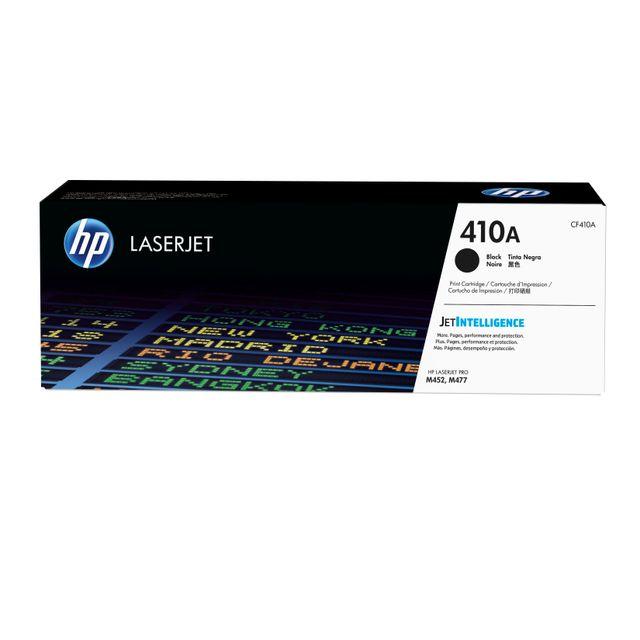 HP CF410A -Toner 410A Noir x2 HP 410A Toner Noir authetique pour HP Color LaserJet Pro M377/M452/MFP M477