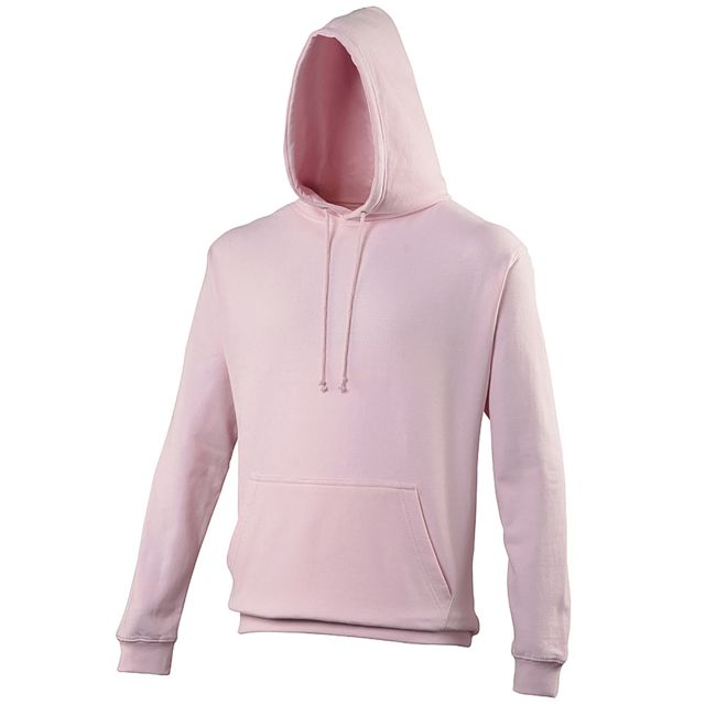 AWDIS Sweatshirt à capuche College - Adulte M, Rose pâle Utrw164