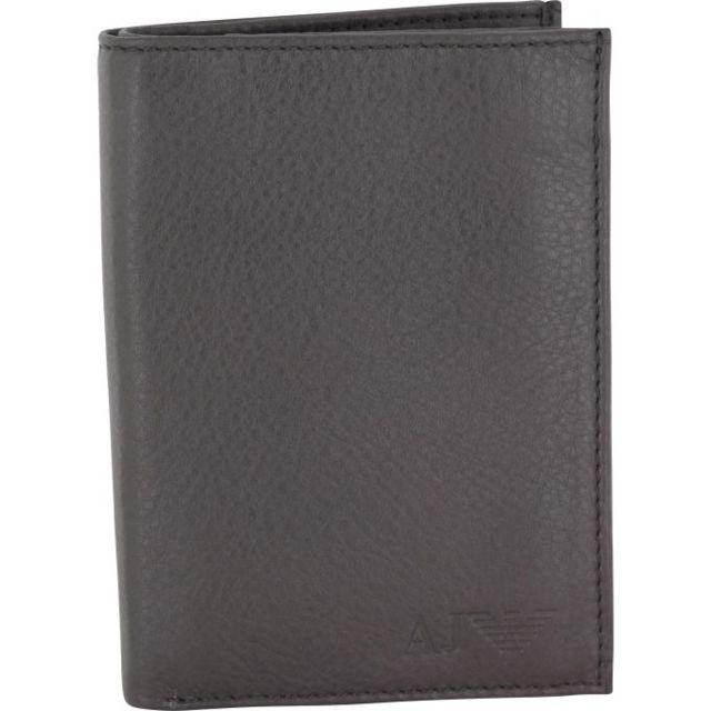bcd549808830 Armani - Portefeuille Vertical – Cuir de vachette Jeans - pas cher Achat    Vente Portefeuilles - RueDuCommerce