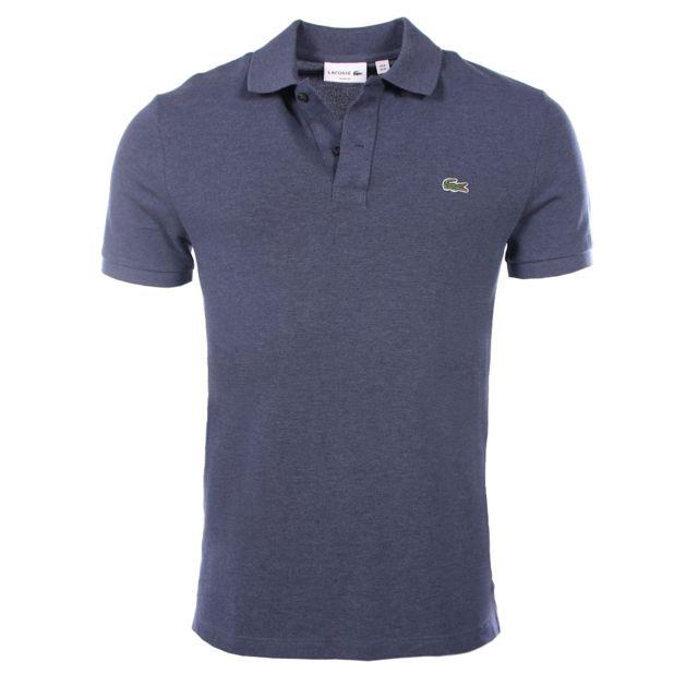b302fe8374 Lacoste - homme - Polo manches courtes Ph4012 Bleu nuit - XXL - pas cher  Achat / Vente Polo homme - RueDuCommerce