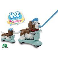 PET PARADE - Coffret Pet Scooter 2 scooters, 2 casques, 1 chien, 1 bébé et des accessoires PTF01