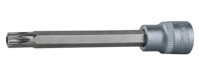 T15 L.37 mm KS TOOLS 922.1493 Douille tournevis ULTIMATE TORX perc/é 1//4