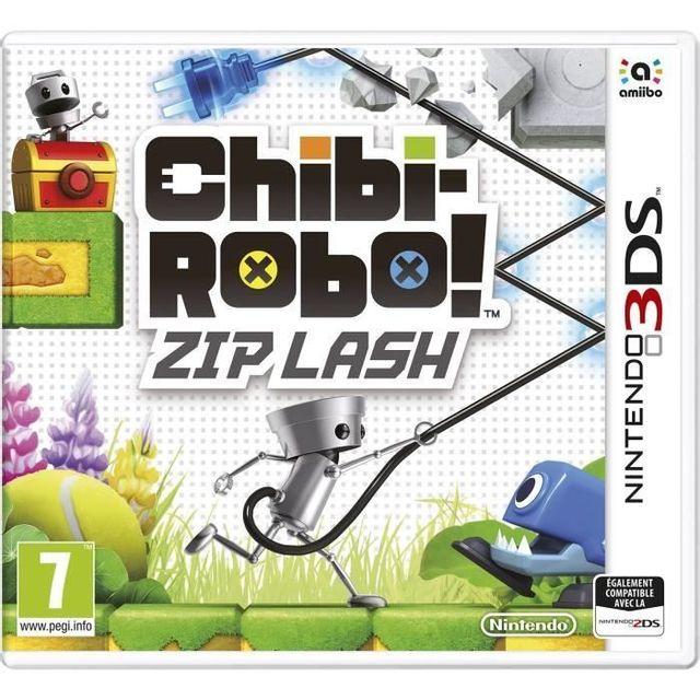 Nintendo Chibi-Robot ! Zip Lash Jeu 3DS