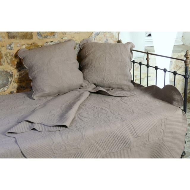 vent du sud couvre lit boutis 1 place byzance pas cher achat vente couvertures et plaids. Black Bedroom Furniture Sets. Home Design Ideas
