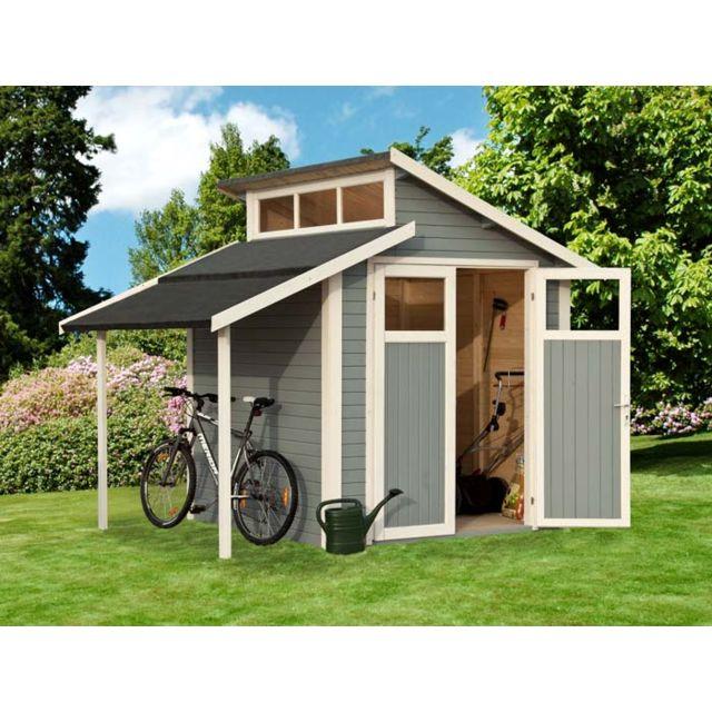 dedans dehors abri de jardin peint notmark pas cher. Black Bedroom Furniture Sets. Home Design Ideas