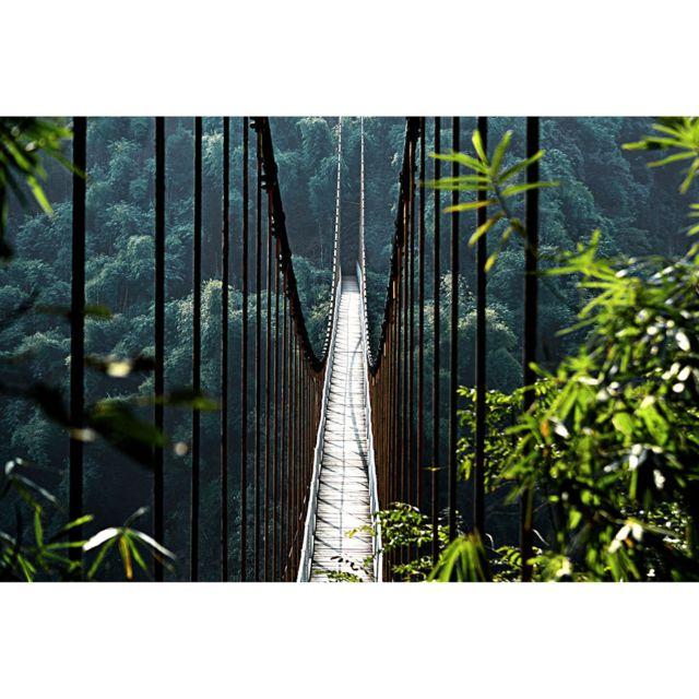 Artis - Toile imprimée Grand Pont Suspendu 65 x 97 cm 65cm x 97cm