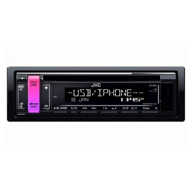 Jvc Autoradio Mp3 Kd-r792BT