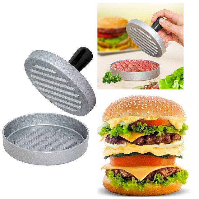 Touslescadeaux Presse à Hamburger - Presse steak haché burger - en Métal