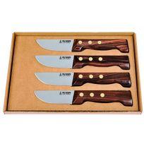 Aunain - Coffret 4 couteaux à steak Le P'tit Boucher Au Nain