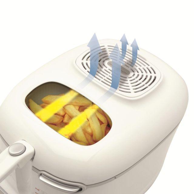 MOULINEX Friteuse AM302130 Les points forts :Capacité 2 litres 1,4 kg de frites fraîches Cuve amovible Thermostat réglable