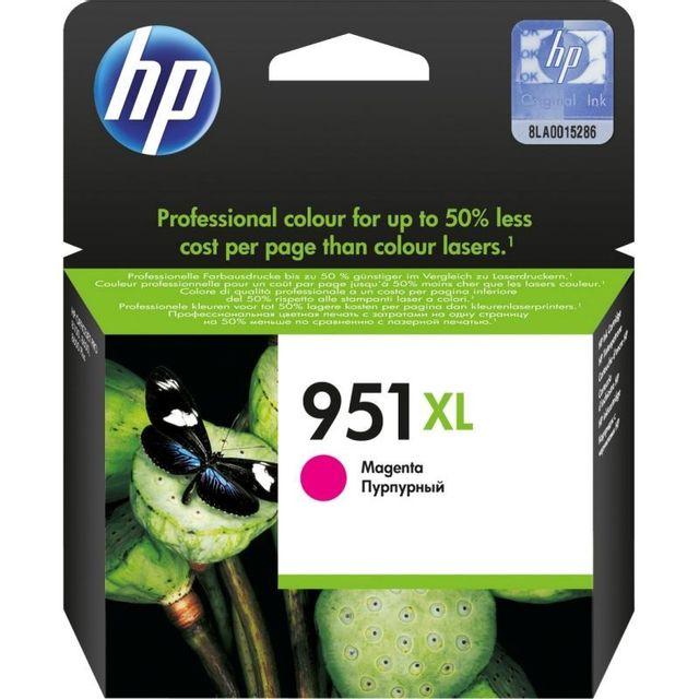 HP Cartouche d'encre Couleur 951 XL - CN047AE - Magenta