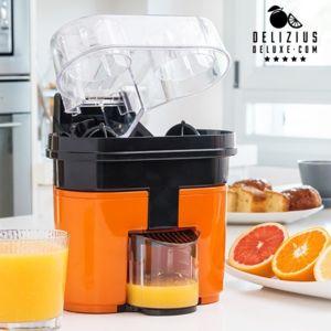 totalcadeau appareil double presse agrumes lectrique jus d 39 orange facile pas cher achat. Black Bedroom Furniture Sets. Home Design Ideas
