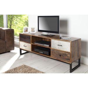 chloe design meuble tv design natura bois fonc pas cher achat vente meubles tv hi fi. Black Bedroom Furniture Sets. Home Design Ideas