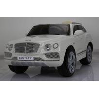 Bentley - Voiture électrique blanc Bentayga