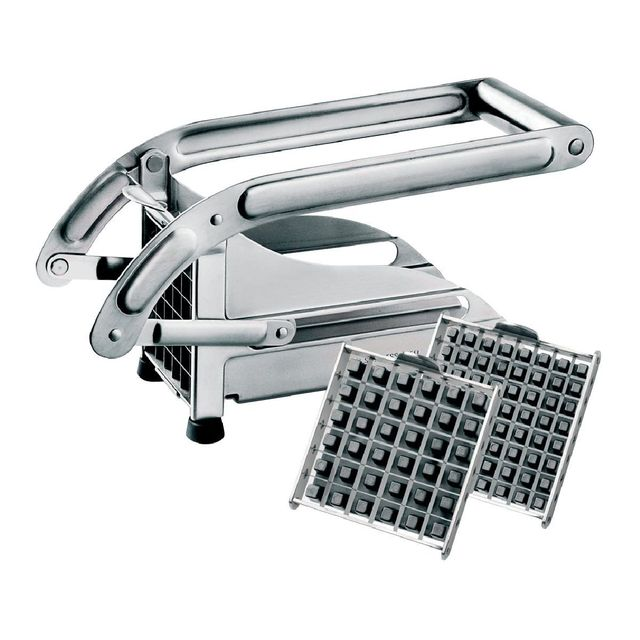 Tellier Coupe frites inox 2grilles