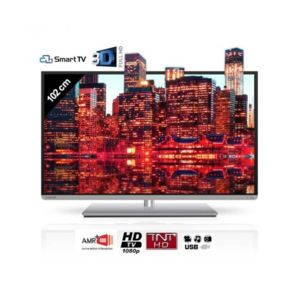 toshiba 40l5435dg smart tv 3d 102 cm pas cher achat. Black Bedroom Furniture Sets. Home Design Ideas