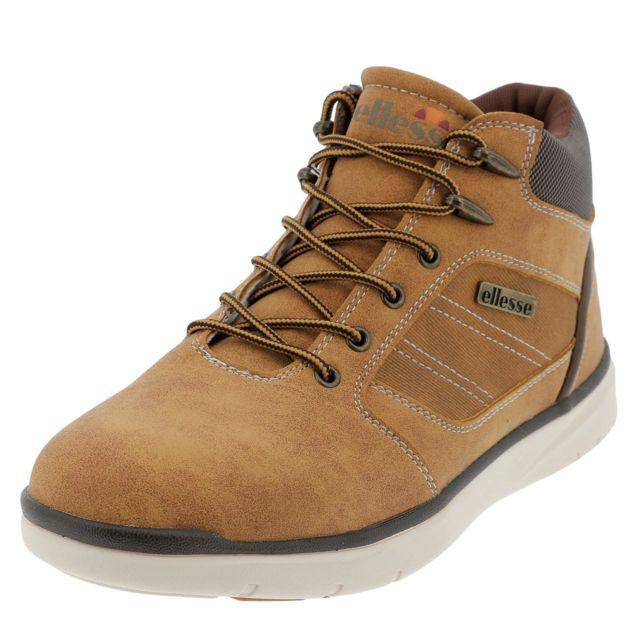 5788b8686ef058 Ellesse - Chaussures montantes Hugo ecureuil h Marron 38378 - pas cher  Achat / Vente Baskets homme - RueDuCommerce