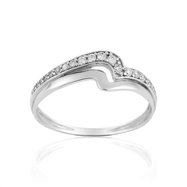 cleor bague or blanc