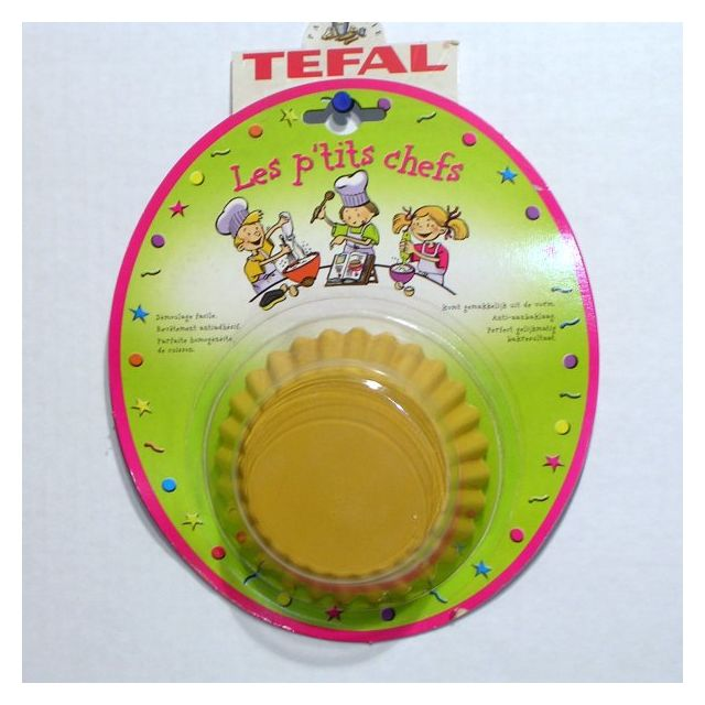Tefal Moule à tartelettes 11 cm jeu de 3, p'tit chef