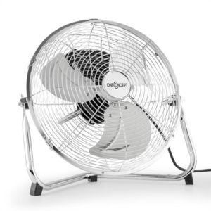 oneconcept metal blizzard ventilateur pied 12 55w. Black Bedroom Furniture Sets. Home Design Ideas