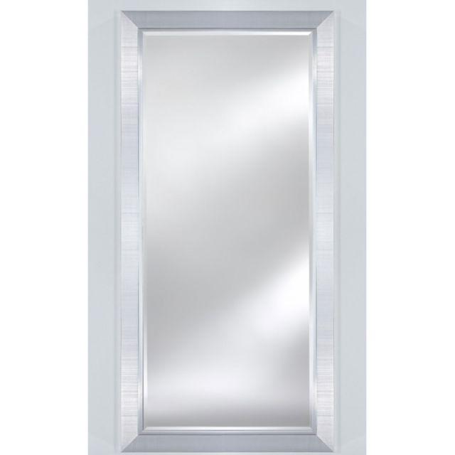 Deknudt Mirrors Miroir Bremen Large Xl Traditionnel Classique Rectangulaire Argenté 83x183 cm