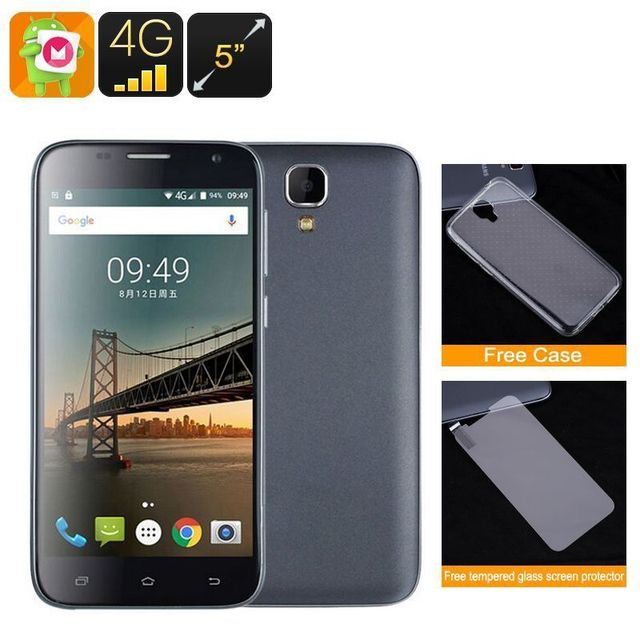 Yonis Smartphone 5 Pouces Android 6.0 Quad Core 4G Double Sim Hd Gps 1Gb Ram