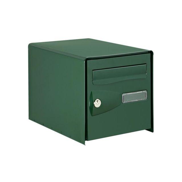 decayeux bo te aux lettres eolys double face vert ral. Black Bedroom Furniture Sets. Home Design Ideas