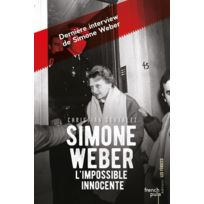 French Pulp - Simone Weber ; l'impossible innocente