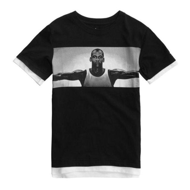 la meilleure attitude 4a46f 9d469 T-shirt Free Throw Fly Noir Pour Enfant Taille - S 120-135cm