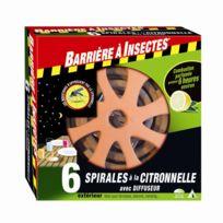 Diffuseur anti-moustique pour spirale citronnelle Barriere A Insectes