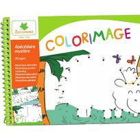 Sycomore - Colorimage Pad Abecedaire Mystere