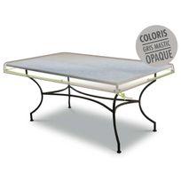 JARDIDECO - Housse de protection pour plateau de table 210 x 100 x10 cm