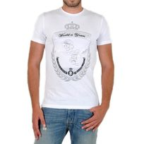 Beandbe Touchdown - T-shirt Be and Be Touchdonw Ms Couronne Blanc